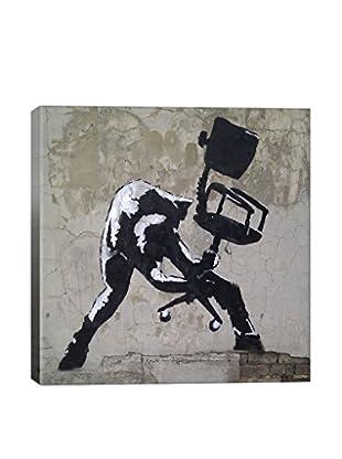 Banksy London Calling Giclée On Canvas
