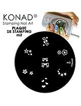Konad Image Plate Code: M19