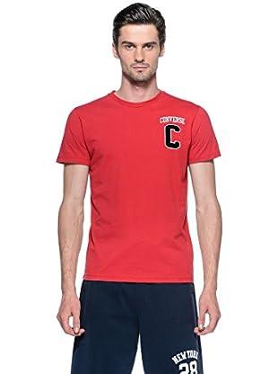 Converse Camiseta Mc Aut (Rojo)