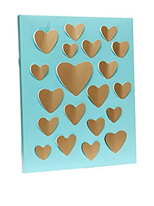 Novità Home Panel Decorativo Hearts