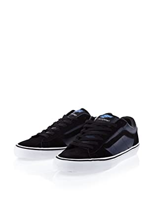 Vans M LA CRIPTA DOS V98U54O Herren Sneaker (Schwarz/(Flannel) black/blue)