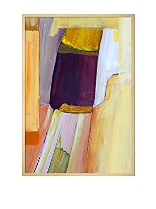 Clive Watts An Abstract Composition Framed Print On Canvas, Multi, 37.5