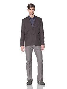 Color Siete Men's Taylor Minicheck Blazer (Sparrow)
