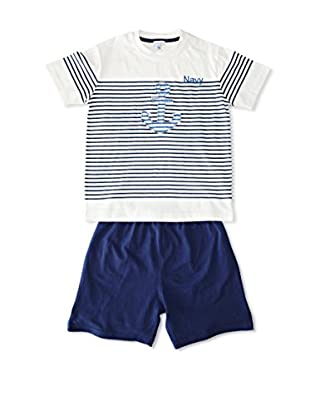 Pillerias Pijama Acanto (Azul / Blanco)