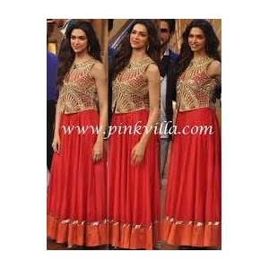 Tamanna Fashion House Deepika Padukone Gown - Red