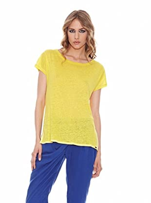 Salsa Camiseta Jaspeada (Amarillo)