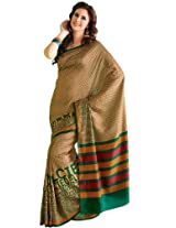 Orbymart Exclusive Designer Raw Silk Multi Colour Printed Saree - 55251866