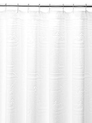 Espalma Tub & Sink Shower Curtain, White