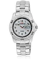 T46601 Dark Grey/White Analog Watch