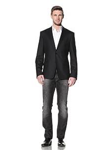 Versace Collection Men's City Fit Blazer (Black)