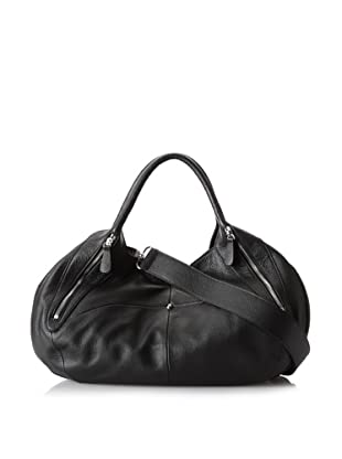 Charles Jourdan Women's Jade Satchel (Black)