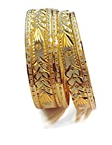 DIVINIQUE JEWELRY Gold Plated Bangle Set For Women -Multi-Colour