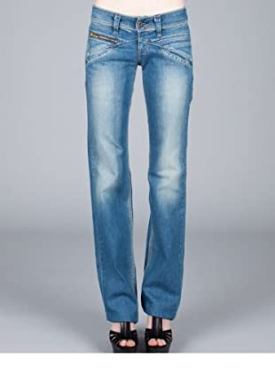 Levis Jeans Straight Fit (Blau)