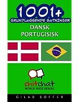 1001+ grundlæggende sætninger dansk - portugisisk