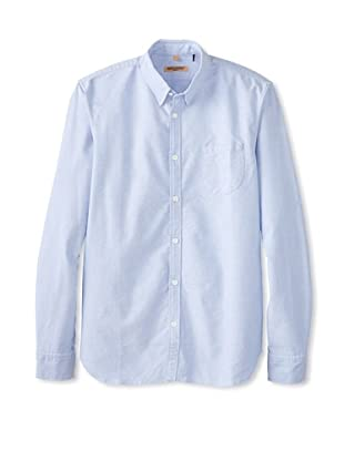 Levi's Made & Crafted Men's One Pocket Oxford Shirt (Pale Blue)