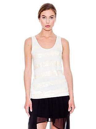Mango Camiseta Zarpa (Blanco)