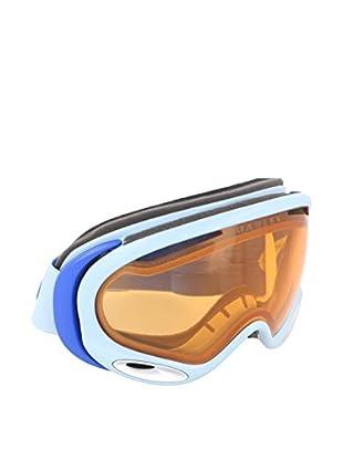 OAKLEY Skibrille MOD. 7044 CLIP weiß/blau