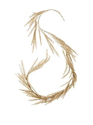 RAZ 6' Glittered Pine Garland