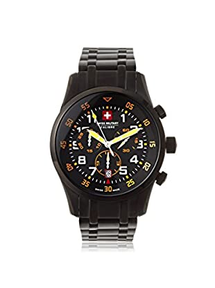 Swiss Military Calibre Men's 06-5C4B Chronograph Black Stainless Steel Watch