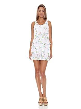 Assuili Vestido Flor (Blanco)