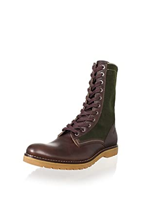 Wolverine No. 1883 Men's Seger Engineer Boot (Brown/Hunter Green)