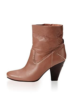 CNC Costume National Women's Ankle Bootie (Dark Tan)