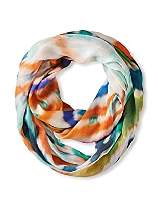 Saachi Women's Abstract Ikat Print Infinity Scarf, Multi