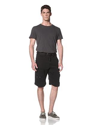 Darring Men's Formula 1 Cargo Short (Black)