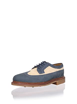 Florsheim Men's Haviland Wingtip (Chalk Blue Combo)