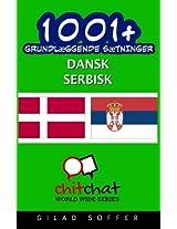 1001+ grundlæggende sætninger dansk - serbisk