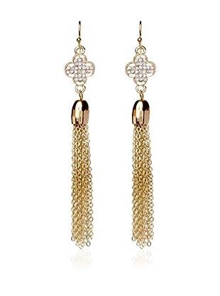 Amrita Singh Pendientes Crystal Clover Earring