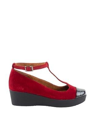 Liberitae Zapatos (Negro / Burdeos)