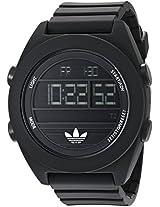 Adidas Digital Black Dial Unisex Watch - ADH2907