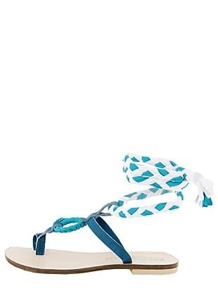 Dolceamore Sandalias Gina (Azul / Blanco)