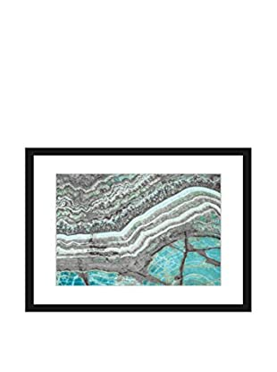 Marmont Hill Blue Grey Mountain Framed Print Wall Art