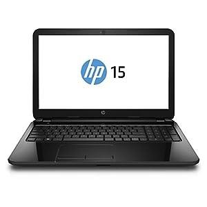 HP 15-R062TU 15.6-inch Laptop (Core i3 4005U/4GB/500GB/Ubuntu/Intel HD Graphics 4400/with Laptop Bag), Black