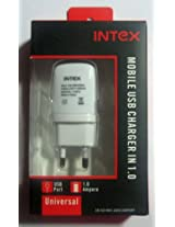 Intex Mobile USB Charger IN 1.0Amp mobile charger ADAPTOR