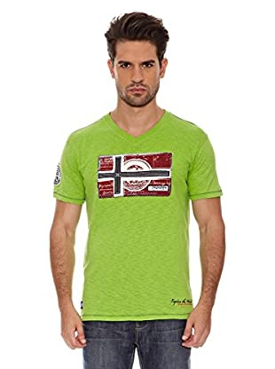 Geographical Norway Camiseta Jeographic Ss Men 202 (Verde)