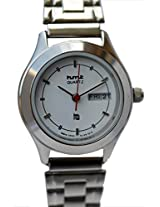 HMT White Dial Analogue Watch for Women (OLSS 36)