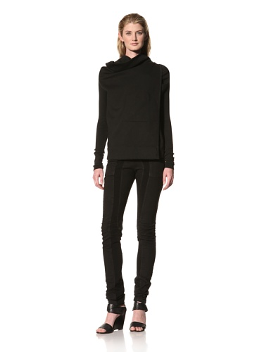 RICK OWENS Women's Wrap Jacket (Black)