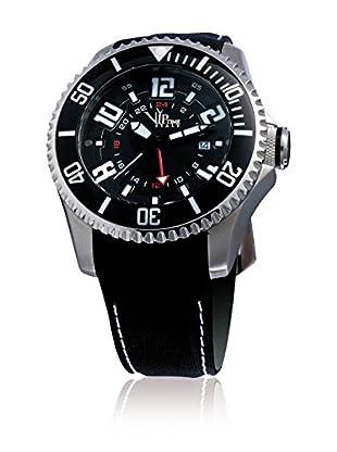 Vip Time Italy Uhr mit Japanischem Quarzuhrwerk VP5044ST_ST schwarz 47.00  mm