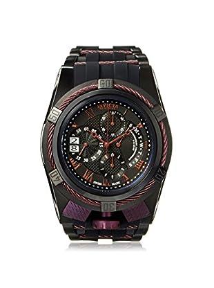 Invicta Men's 12678 Bolt Black/Purple Silicone Watch