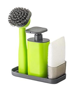 VIGAR Kit de Limpieza 4 Piezas Rengo Verde / Gris / Blanco
