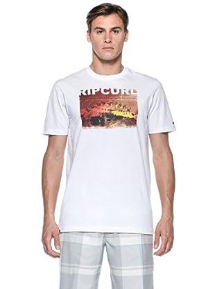 Rip Curl T-Shirt Rotation S/S Tee (Bianco)