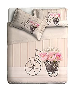 Ipersan Betttuch und Kissenbezug Vintage