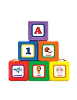 Little's 6-in-1 Jumbo Blocks, Multi Color