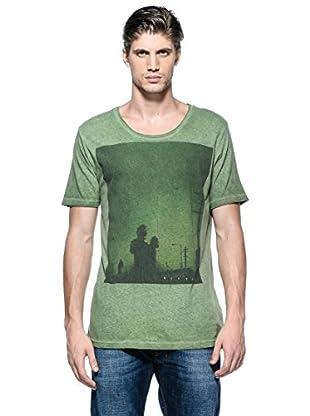 Diesel Camiseta T-Taukizan (Verde)