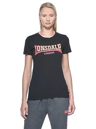Lonsdale Camiseta Lijiang (Negro)
