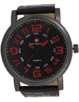 Baywatch 7050 Analog Watch - For Men (Black) 7050RED