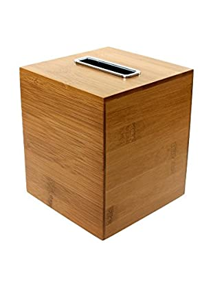Gedy by Nameek's Tissue Box Cover PO02-35, Bamboo